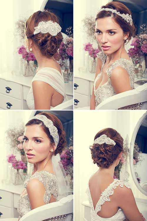 Anna Campbell Hair for Wedding