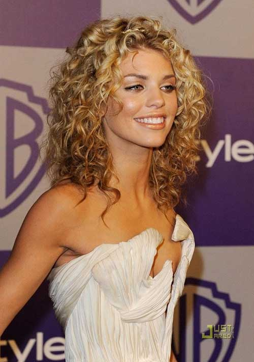 Annalynne Mccord Curly Hairstyle