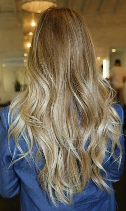 Ash Blonde Hair Ombre for Summer