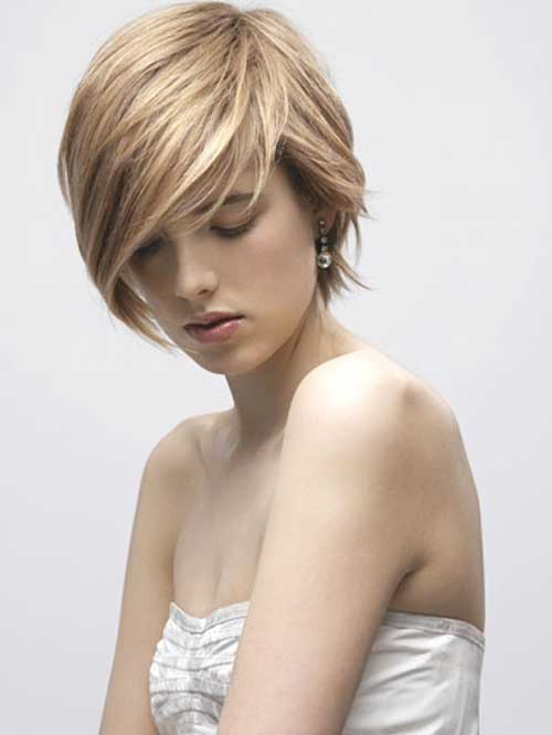 Ash Blonde Hair Pixie Hair