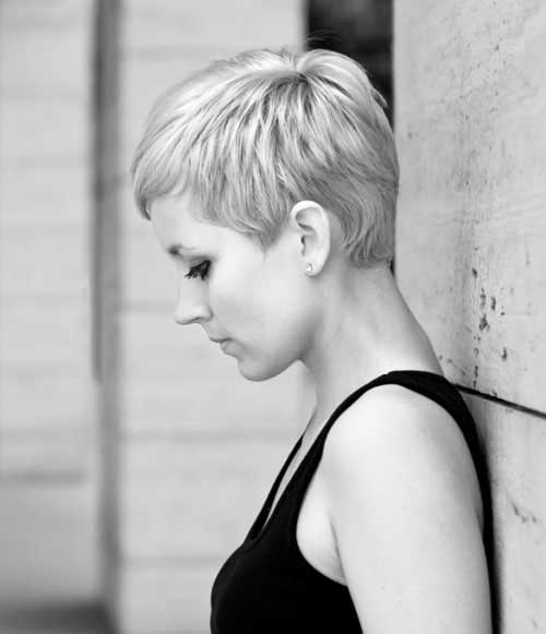 Asymmetrical Pixie Cut Styles