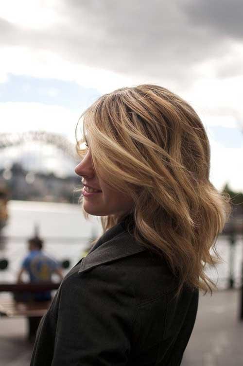 Attractive Wavy Hairstyles Medium Hair