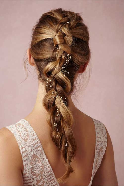 Best Beautiful Braided Hair Accessories for Wedding