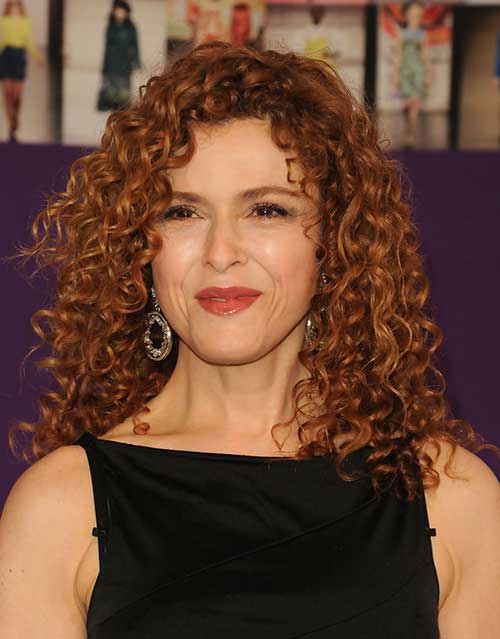 Bernadette Peters with Curly Hair