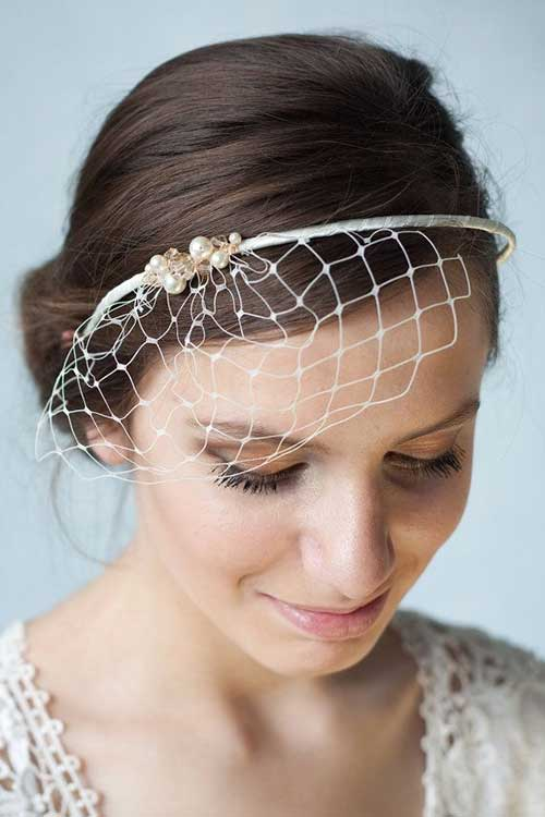 Best Birdcage Veil Headband