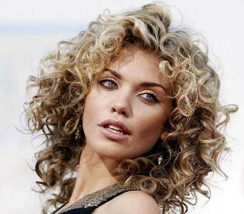 Blonde Curly Hairstyles