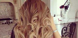 Blonde Curly Hair Dye On Dark Brown Hair