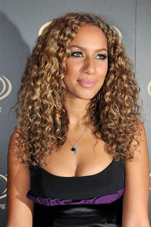 Blonde Very Thick Curly Hairstyles