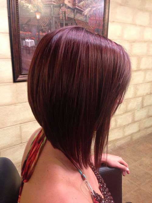 Inverted Bob Hairstyles 2014