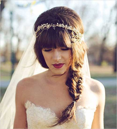 New Beautiful Bohemian Wedding Hair