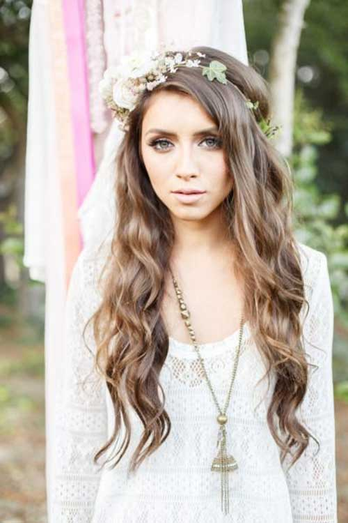 Amazing Boho Hair for Wedding