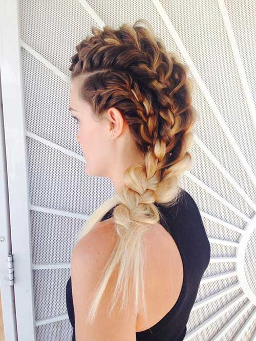 Messy Braid Long