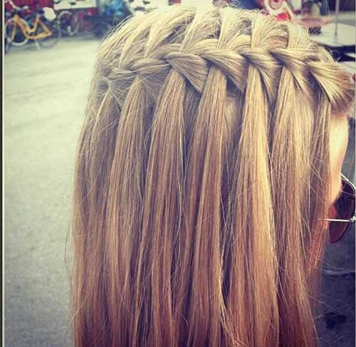 Braid for Straight Long Hair