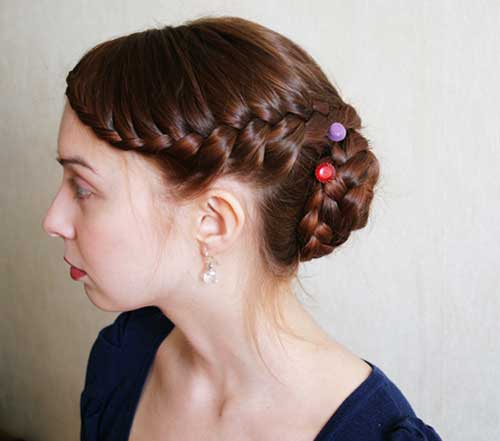 Best Braided Updo for Long and Thick Hair