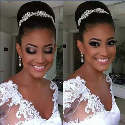 25 Good Bun Wedding Hairstyles Hairstyles And Haircuts Lovely