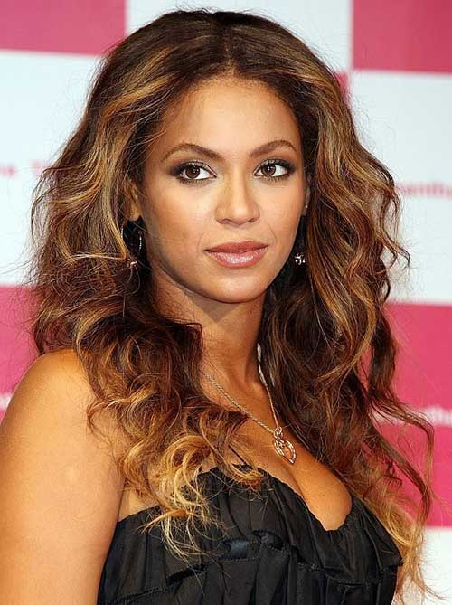 Beyonce Brunette to Blonde Hair