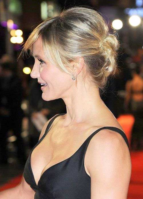 Cameron Diaz Updo Hairstyles