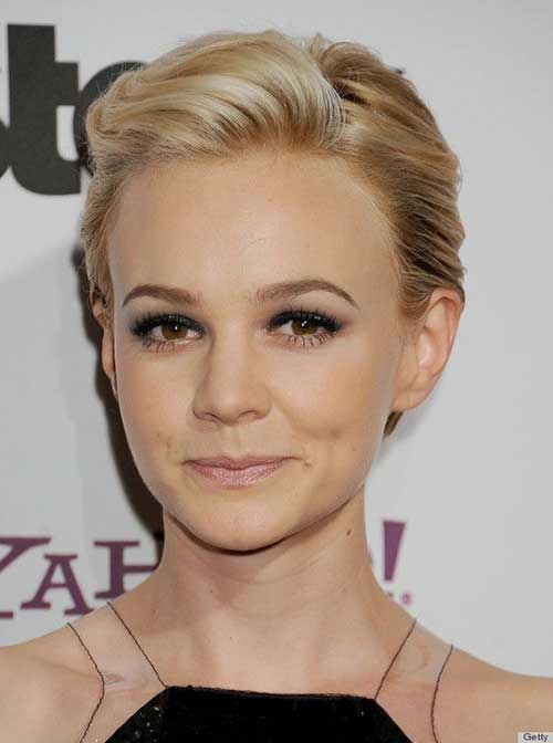 Carey Mulligan Stylish Short Hairstyles