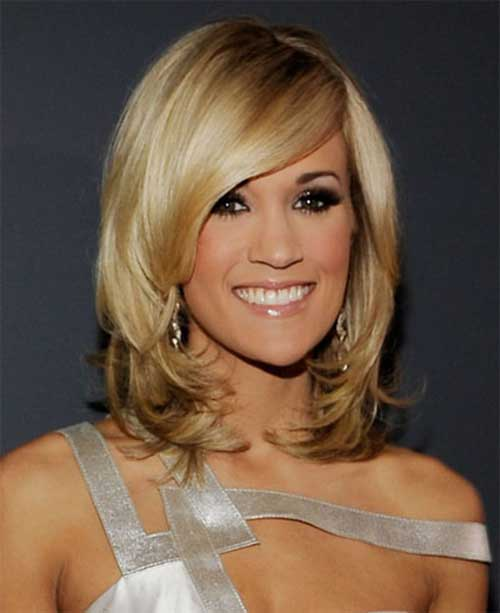 Carrie Underwood Thick Hairstyles