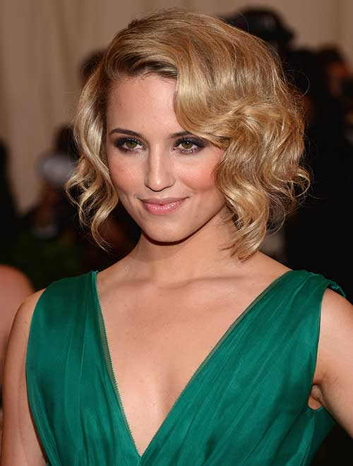 Chic Elegant Curly Short Hairsyles