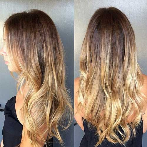 Color Melting Hair Ideas