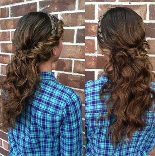 Best Curly Half Up Hairstyles
