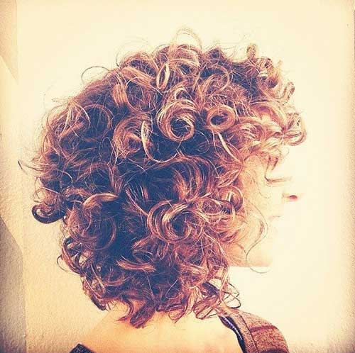 Curly Lob Style