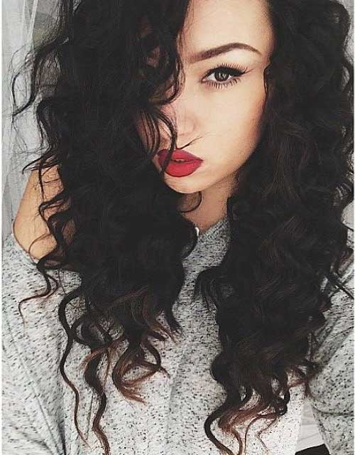 Curly Perm Black Hairstyles