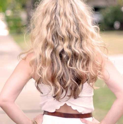 Best Curly Wavy Blonde Hair