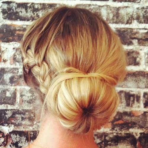 Cute Hairstyles Braided Bun