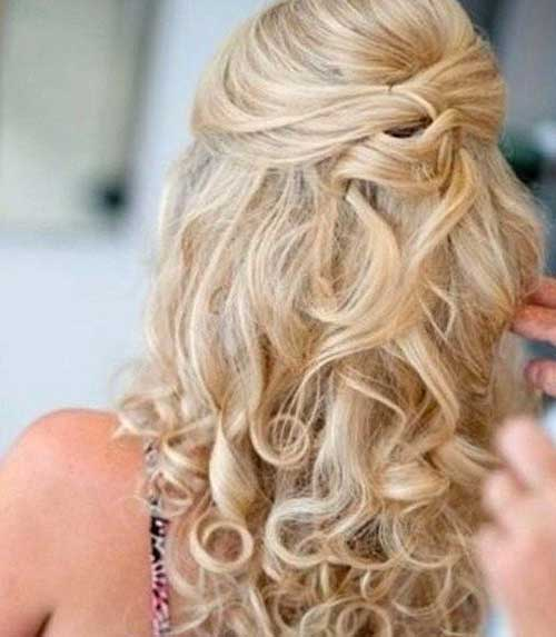 Best Cute Half Up Half Down Hairstyles Curly Ends