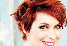 Cute Red Pixie Haircuts