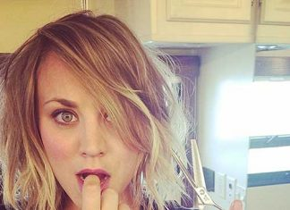 Kaley Cuoco Cute Short Hair Styles