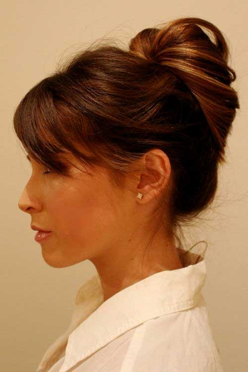 Simple Easy Bun for Long Hair