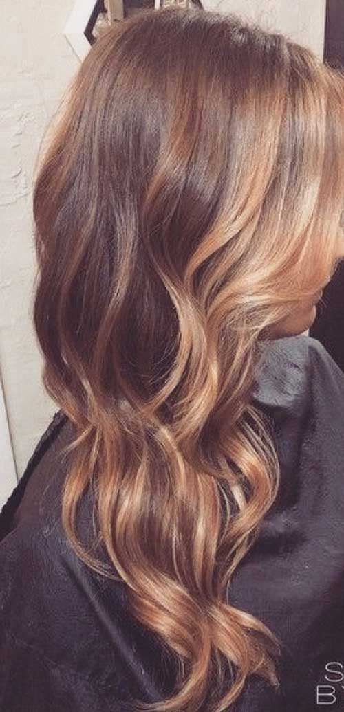 Elegance Balayage Hair Color Idea