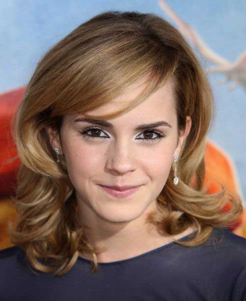 Emma Watson Medium Lenght Hair