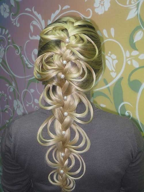 Nice Fancy Braided Hairstyles