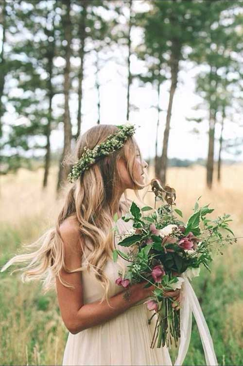 Best Floral Head Accessories Blonde Hairdo