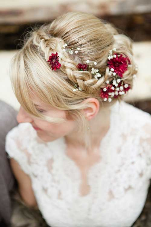 Flower Crown for Wedding Hair Images