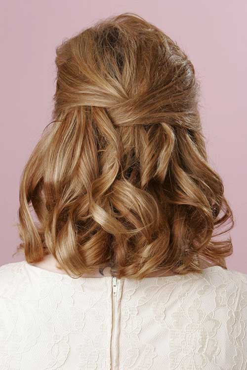 Best Formal Hairstyles for Shoulder Length Hair