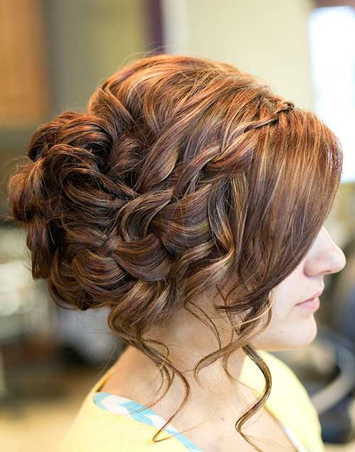 Formal Messy Chic Updo