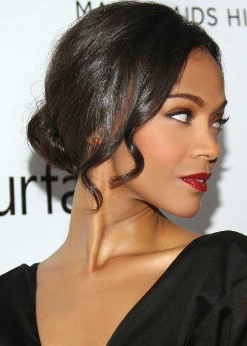 Gorgeous Hair Updos for Mid Lenght Hairstyles