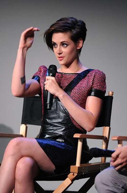 Kristen Stewart Great Pixie Cuts
