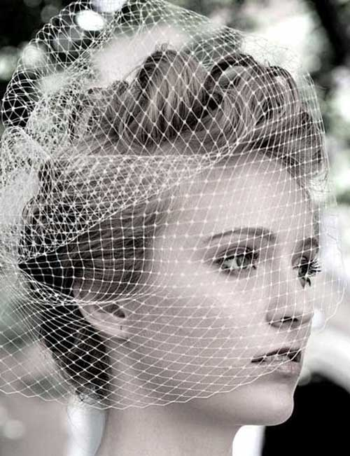 Short Hair Accessories for Weddings