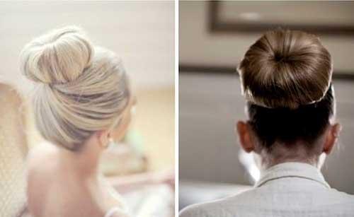 Best Hair Ideas for Wedding with Good Bun
