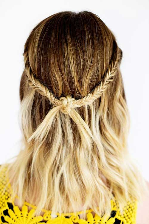Braided Haircut Ideas for Medium Hair