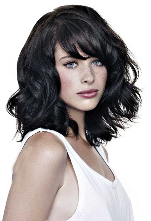 20 Medium Lenght Hairstyles Hairstyles And Haircuts