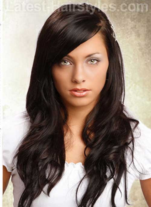 Easy Hairstyles for Long Dark Hair
