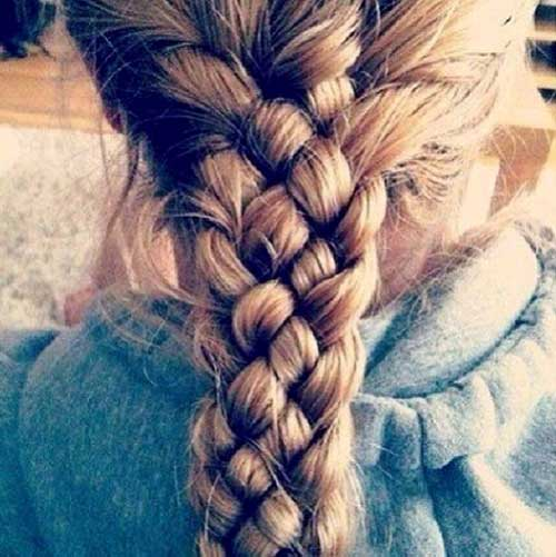 Hairstyles for Long Hair Triple Braids