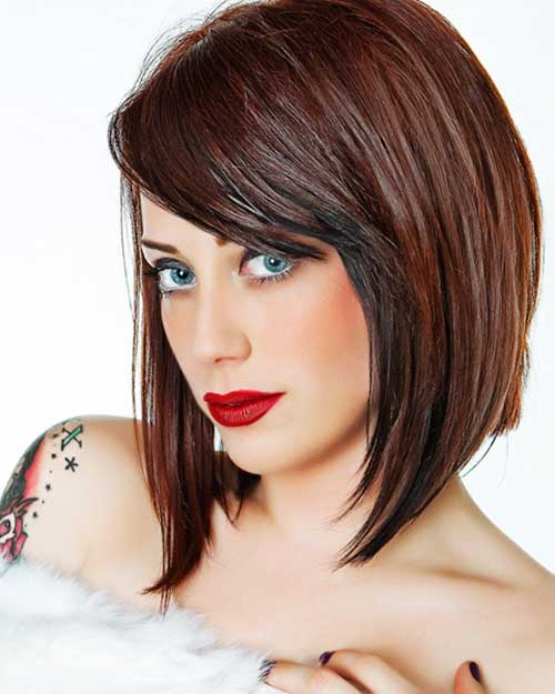 medium length haircut for hair chunky cut medium length bobs hairstylegalleries 2970